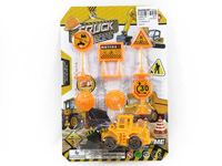 Pull Back Construction Truck W/Guide(4S) toys