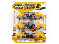 Pull Back Construction Truck(6in1) toys