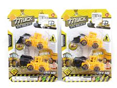 Pull Back Construction Truck(2in1) toys