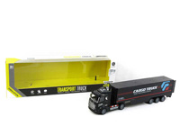 1:48 Pull Back Container Truck toys