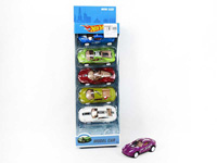 Die Cast Racing Car Pull Back(6in1) toys