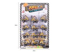 Pull Back Construction Truck(12in1) toys