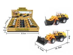 Die Cast Construction Truck Pull Back(8in1) toys