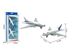 Die Cast Airplane Pull Back(2in1) toys