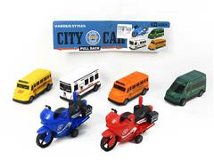 Pull Back Car(6in1) toys