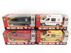 Die Cast Car Pull Back(4S4C) toys