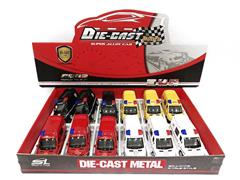 Die Cast Car Pull Back(12in1) toys