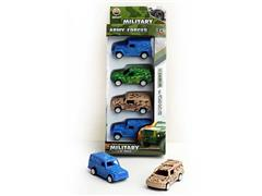 Pull Back Cross-country Car(4in1) toys