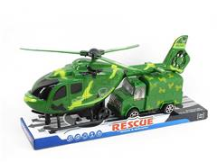 Pull Back Helicopter & Free Wheel Car
