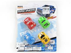 Pull Back Car(4in1) toys