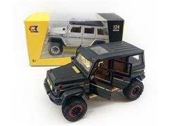 1:24 Die Cast Car Pull Back W/L_S(4C) toys