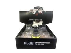 1:24 Die Cast Car Pull Back W/L_S(6in1) toys