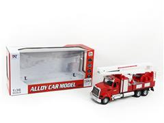 Die Cast Fire Engine Pull Back toys