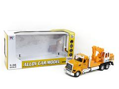 Die Cast Construction Truck Pull Back toys
