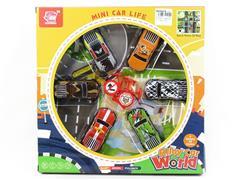 Pull Back Car Set(6in1) toys