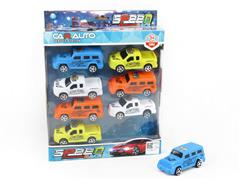 Pull Back Cross-country Car(8in1) toys