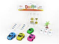 Pull Back Car Set toys