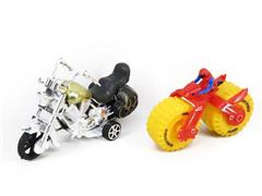 Pull Back Motorcycle & Friction Motorcycle(2in1) toys