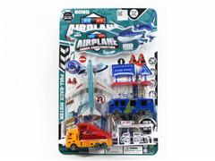 Pull Back Airfield Set toys