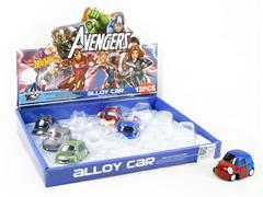 Die Cast Car Set Pull Back(12in1) toys