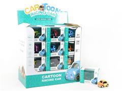 Die Cast Car Set Pull Back(24in1) toys