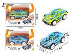 Die Cast Racing Car Pull Back(2C) toys