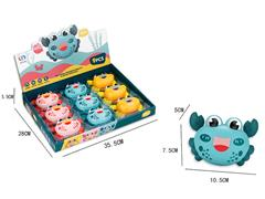 Press Crab(9in1) toys