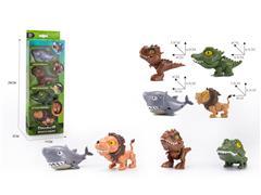 Finger Biting Dinosaur(4in1) toys
