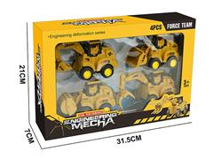 Press Construction Truck(4in1) toys