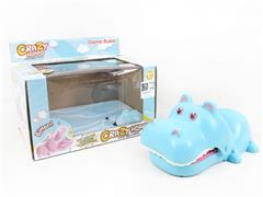 Pressure Biting Hippo W/L_M toys