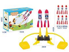 Press Rocket W/L toys