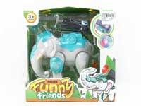 Press Elephant Guard  Set W/L_M toys