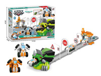 Press Transforms Railcar Set(2C) toys