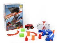 Die Cast Cross-country Car Set Press(4S) toys