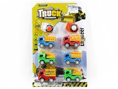 Press Construction Truck(6in1) toys