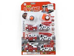 Press Fire Engine(6in1) toys