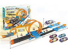 2in1 Press Railcar Set toys