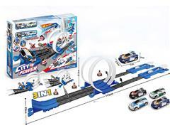 3in1 Press Railcar Set toys