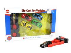 Die Cast Racing Car Press toys