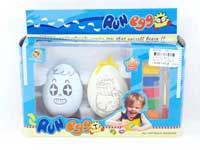 Wind-up Watercolour Palette Egg(2in1)