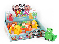 Wind-up Animal(6in1) toys