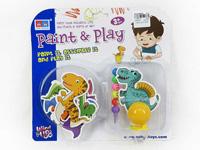 Wind-up Diy Dinosaur Set toys