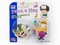 Wind-up Diy Character Set toys