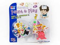Wind-up Diy Clown Set toys