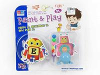 Wind-up Diy Robot Set toys