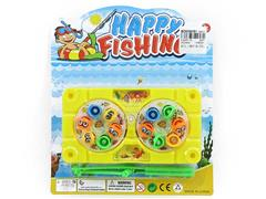 Magnetic Wind-up Fishing Game(3C) toys