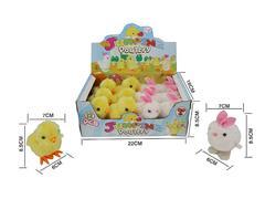 Wind -up Chicken & Rabbit(12in1) toys