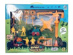 Wind-up Construction Car Set(2C) toys