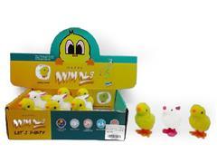 Wind-up Chicken & Rabbit(12in1) toys