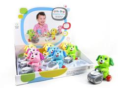 Wind-up Dog Shopping Cart(9in1) toys